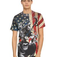 DC Comics Justice League Flag Sublimation T-Shirt