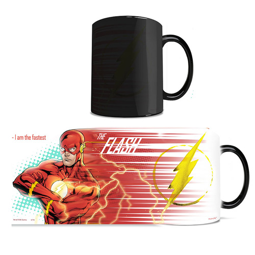 DC Comics Justice League Flash Morphing Mug