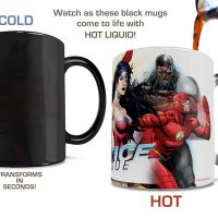 DC Comics Justice League New 52 Morphing Mug
