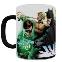 DC Comics Justice League New 52 Morphing Mug Side 1