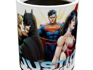 DC Comics Justice League New 52 Morphing Mug Side 2