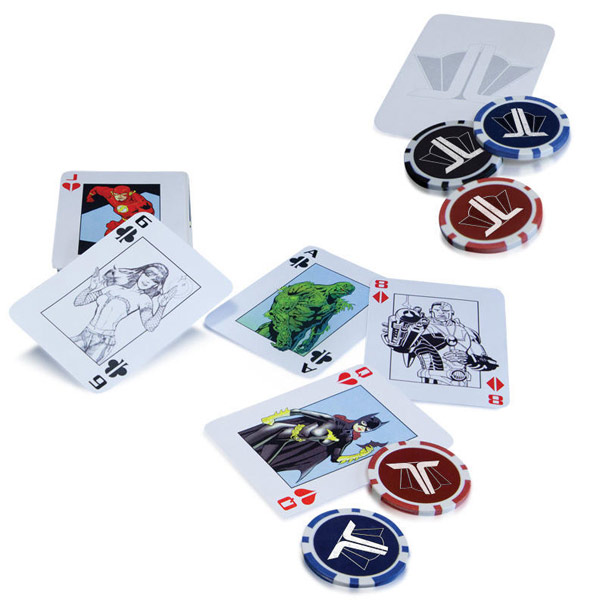 DC Comics Justice League Starter Poker Set
