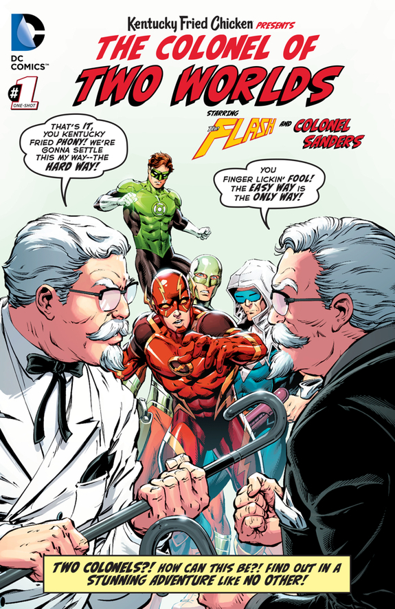 DC Comics KFC The Colonel of Two Worlds 1