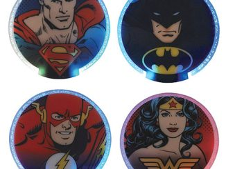 DC Comics Lighted Coasters 4-Pack