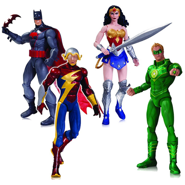 DC Comics New 52 Earth 2 Action Figures