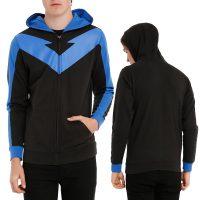 DC Comics Nightwing Costume Zip Hoodie