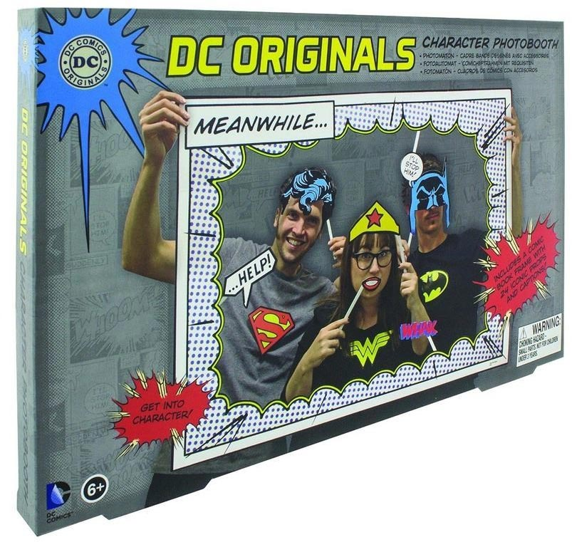 DC Comics Superhero Photobooth Props