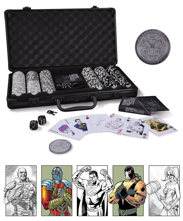DC Comics Poker Set