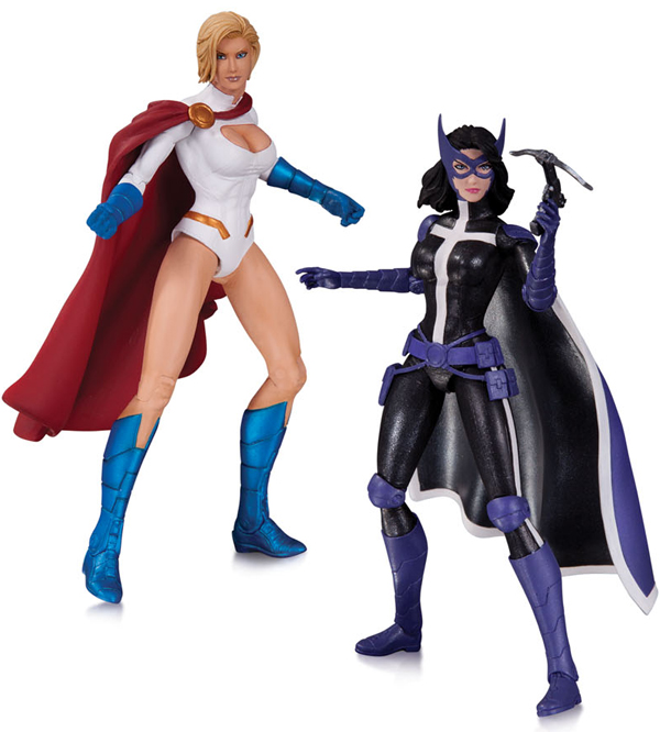 DC Comics Power Girl and Huntress Action Figures