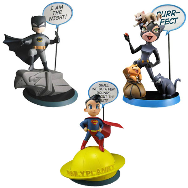 DC Comics Q-Pop Vinyl Figures