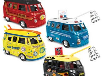 DC Comics Retro Action Bus Vehicles Wave 1