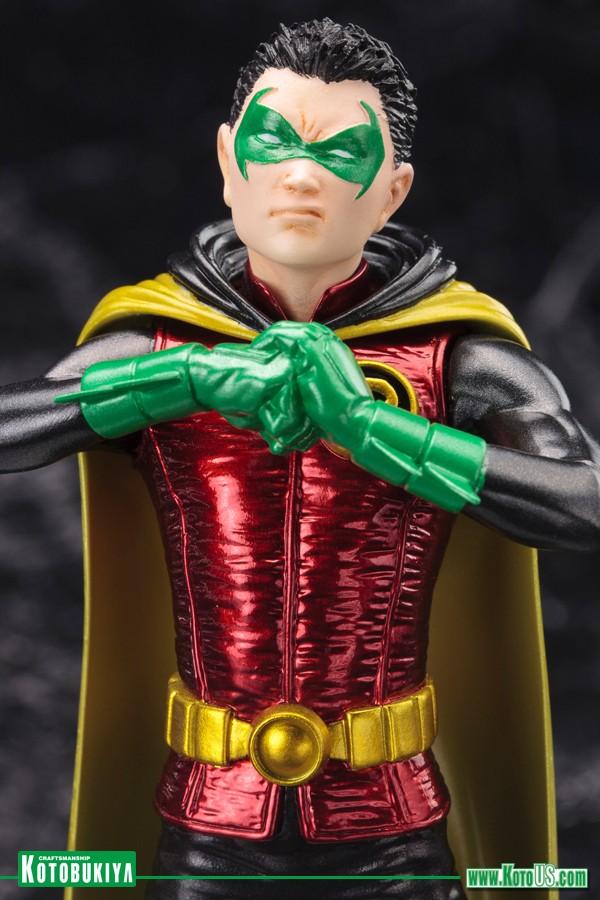 DC Comics Robin 5 Damian Wayne New 52 ArtFX+ Statue