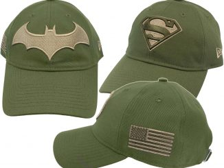 DC Comics Salute to Service 9Twenty Adjustable Hats