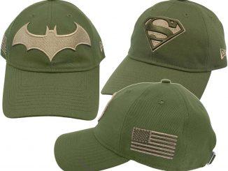 Superman. DC Comics Salute to Service 9Twenty Adjustable Hats b73664b7fb51