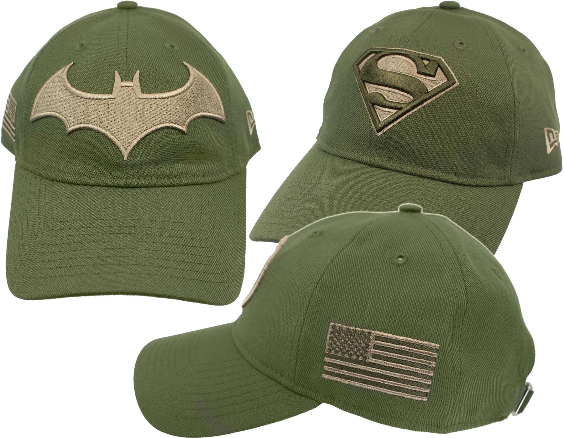 85f5a086315 DC Comics Salute to Service 9Twenty Adjustable Hats