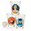 DC Comics Shot Glass 6-Pack