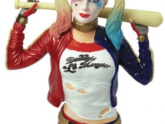 DC Comics Suicide Squad Harley Quinn Bust Bank