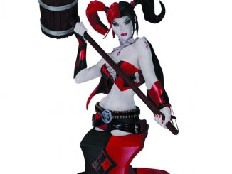 DC Comics Super Villains Harley Quinn Second Edition Bust