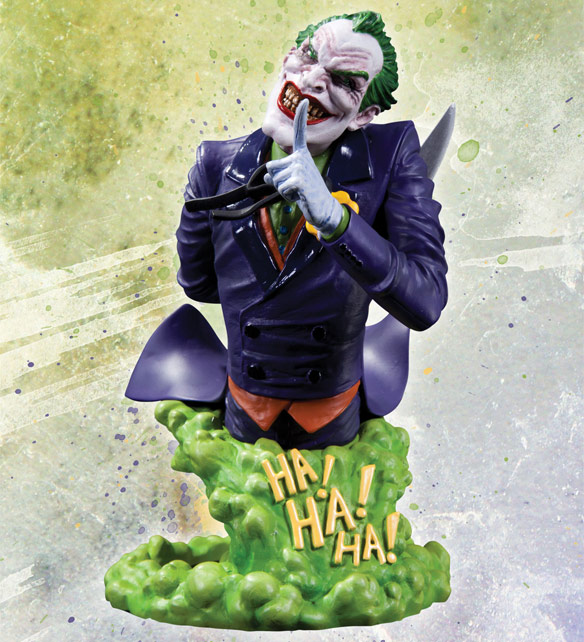 DC Comics Super Villains Joker Bust