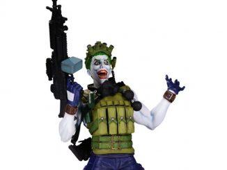 DC Comics Super Villains The Joker Bust Statue