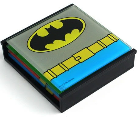 DC Comics Superhero Coasters