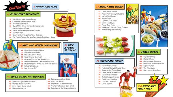 DC Comics Superhero Cookbook