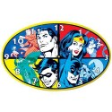 DC Comics Superheroes Wall Clock