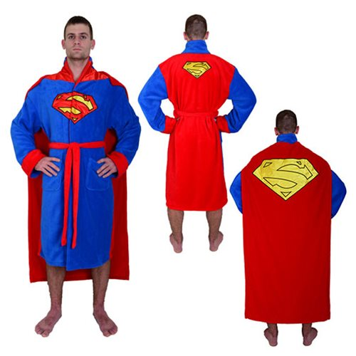 DC Comics Superman Cape Bathrobe