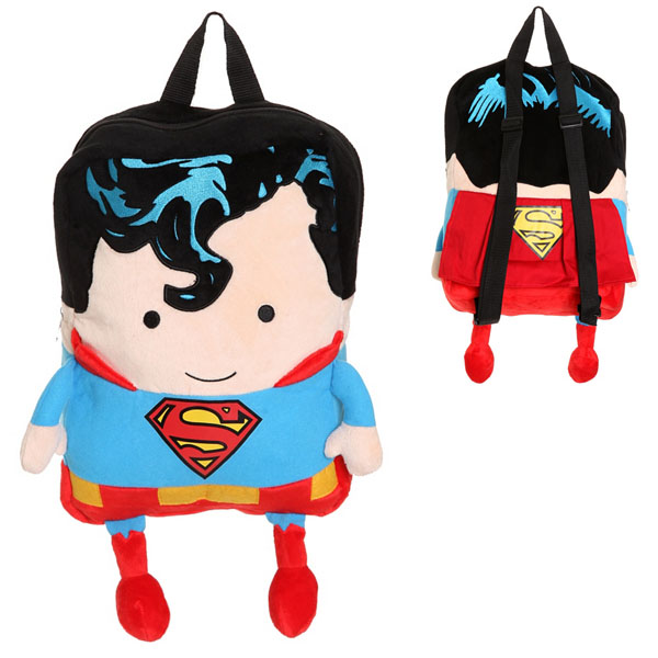 DC Comics Superman Plush Backpack