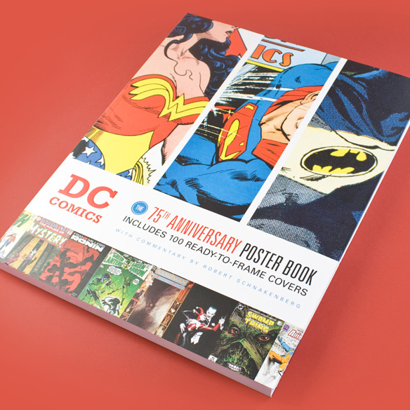 DC-Comics-The-75th-Anniversary-Poster-Book