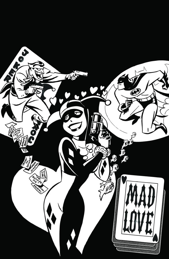 DC Comics The Batman Adventures: Mad Love Coloring Book