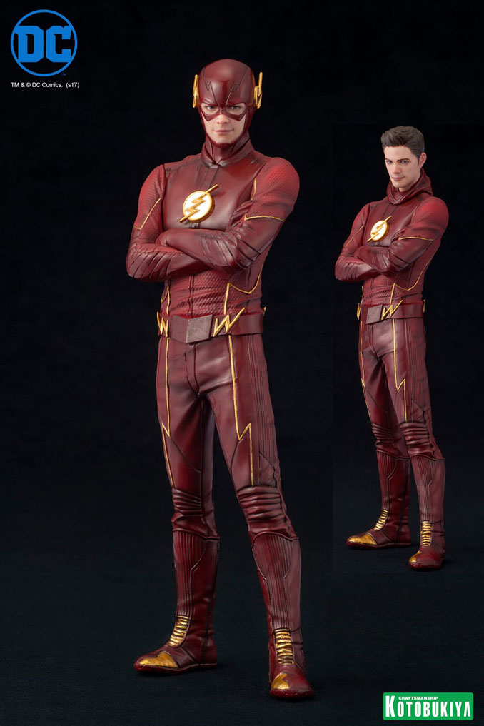 DC Comics The Flash TV Series Flash ArtFX+ Statue