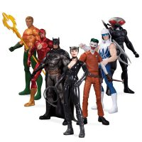 DC Comics The New 52 Super Heroes vs Super Villains Action Figure 7-Pack