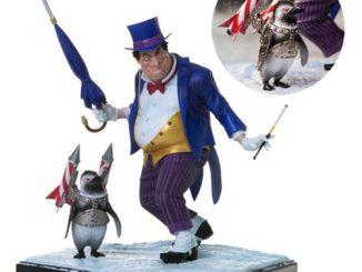 DC Comics The Penguin 1 10 Scale Deluxe Art Statue