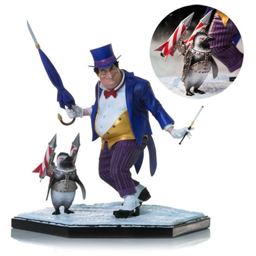 DC Comics The Penguin 1 10 Scale Deluxe Art Statue