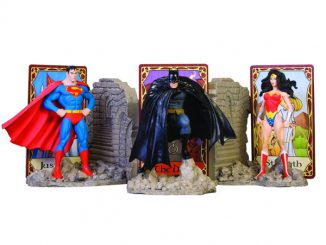 DC Comics Trinity Bookends