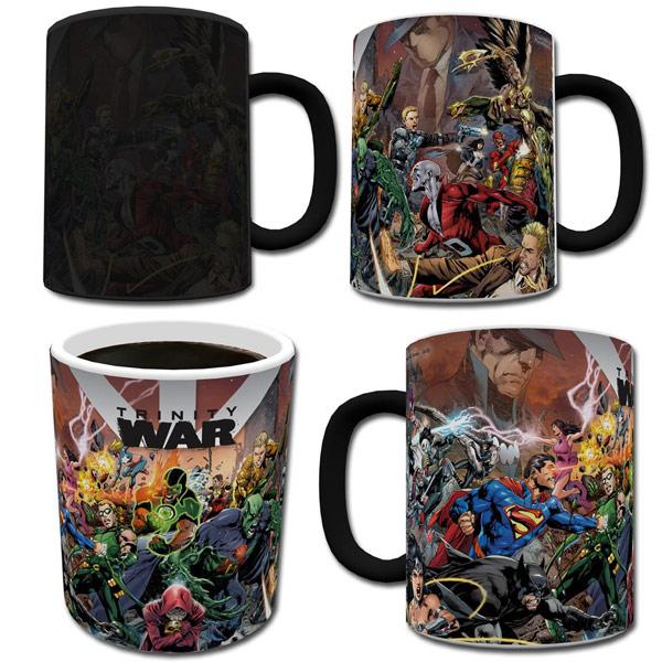 DC Comics Trinity War Morphing Mug