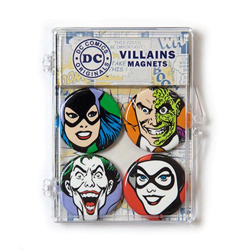 DC Comics Villains Magnets