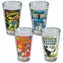 DC Comics Vintage Pint Glasses
