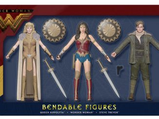 DC Comics Wonder Woman Movie Bendable Action Figure Boxed Set