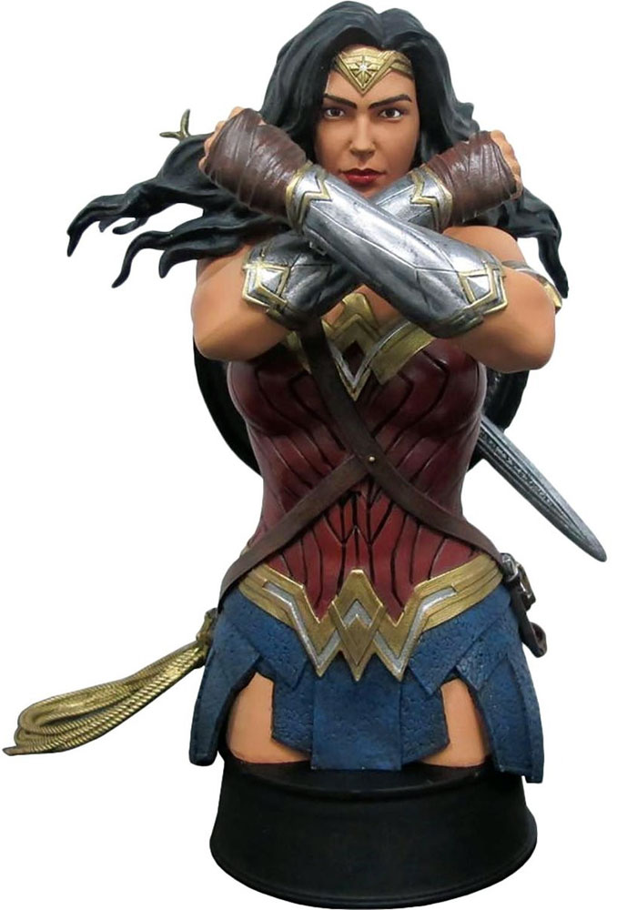 DC Comics Wonder Woman Movie Defend Bust