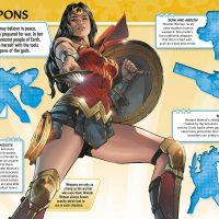 DC Comics Wonder Woman Sticker Book