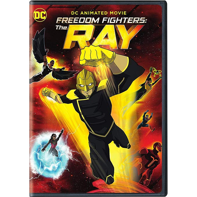 DC Freedom Fighters The Ray DVD