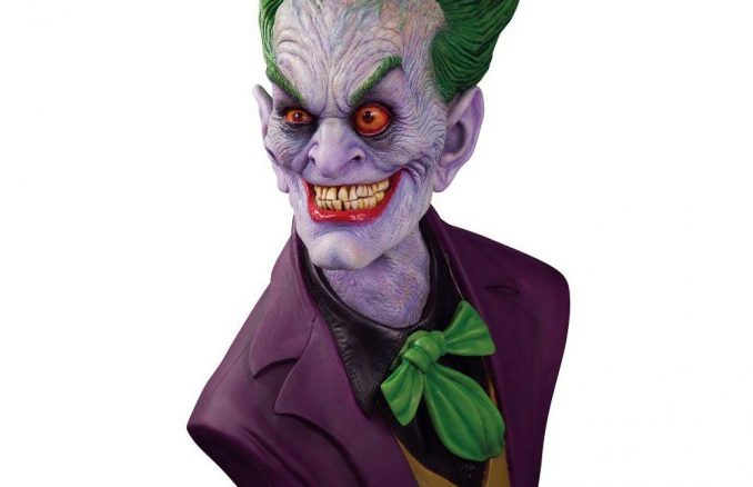 DC Gallery The Joker by Rick Baker Full Scale Bust