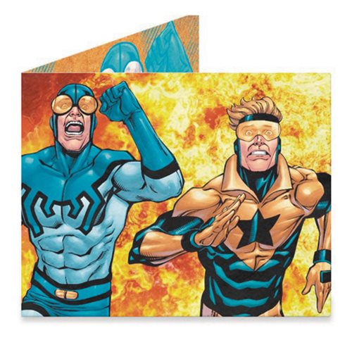 DC Heroes Booster Gold and Blue Beetle Mighty Wallet