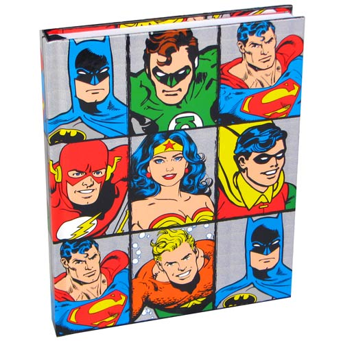 DC Heroes Grid Hardcover Journal