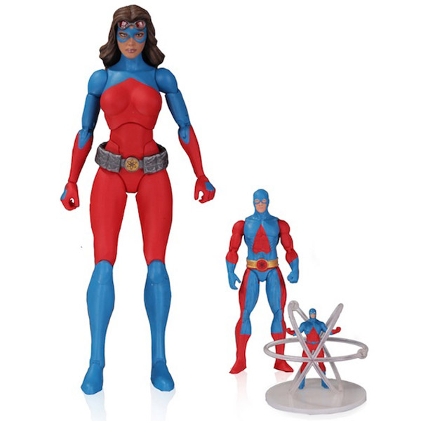 DC Icons Atom Action Figure 3-Pack