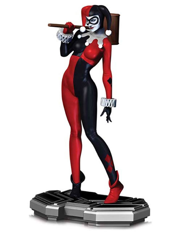 DC Icons Harley Quinn Statue