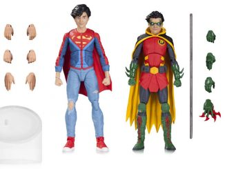 DC Icons Robin and Superboy Action Figures