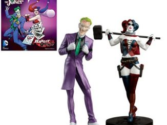 DC Masterpiece Series 5 Joker and Harley Quinn Statues with Collector Magazine